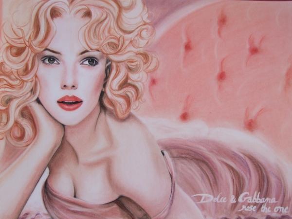 Scarlett Johansson by midoriakira